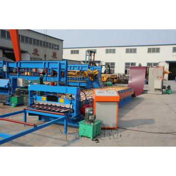 Trapezoid Metal Sheet Forming Machine ZT36-129-889